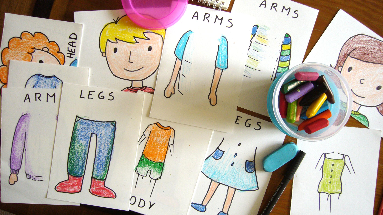 Ensena Las Partes Del Cuerpo En Ingles A Los Ninos De Infantil Mi